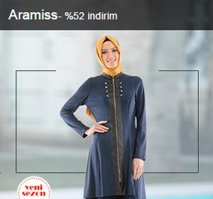 Aramiss Marka Ürünlerde %50'a Varan İndirim Fırsatlarını Kaçırma!