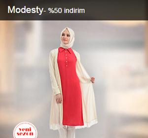 Modesty Marka Ürünlerde %50'a Varan İndirim Fırsatlarını Kaçırma!