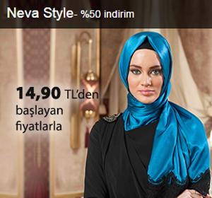Neva-Style Şallar 14,90 TL'den Başlayan Fiyatlarla!
