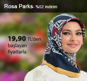 Rosa Pars Eşarplar 19,90 TL'den Başlayan Fiyatlarla!