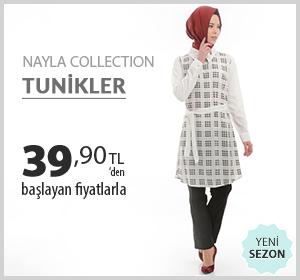 Nayla Collection Tunikler Marka 39,90 TL'den Başlayam Fiyatlarla!